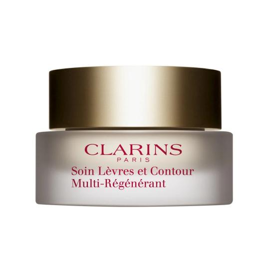 clarins multi-regenerante bálsamo antiarrugas labios y contorno 15ml