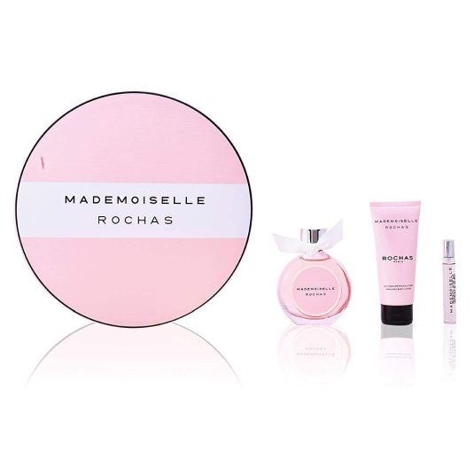 rochas mademoiselle eau de parfum 90ml cofre