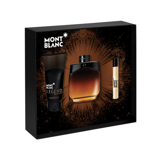 MONTBLANC LEGEND NIGHT EAU DE PARFUM 100ML COFRE
