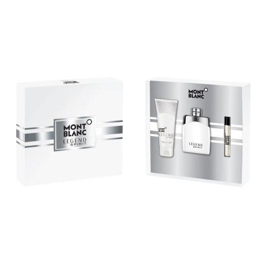 montblanc eau de toilette legend spirit edt 100ml cofre 3 piezas