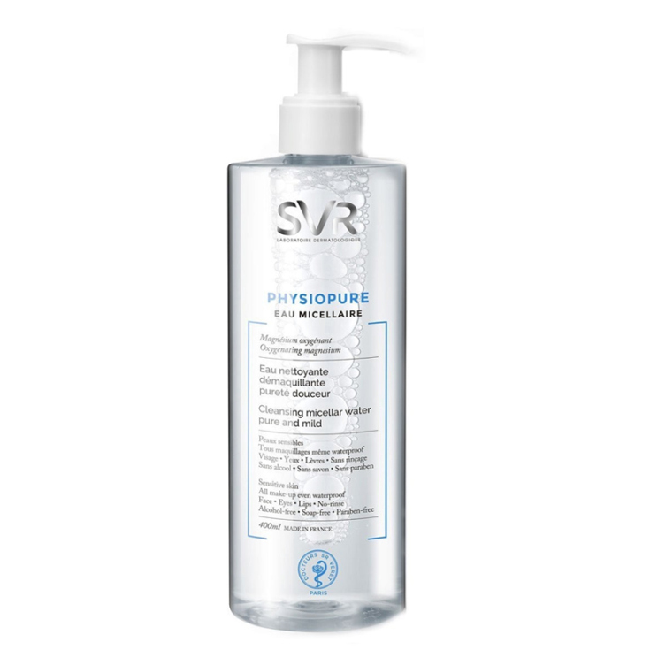svr physiopure cleansing micellar water agua micelar 400ml