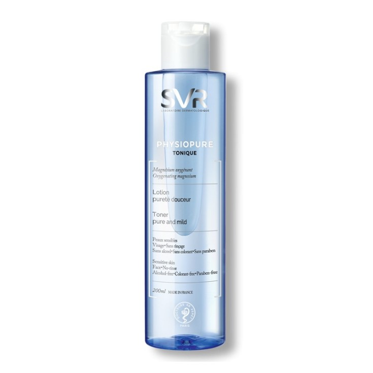 svr physiopure tonique tonico limpiador puro y suave 200ml