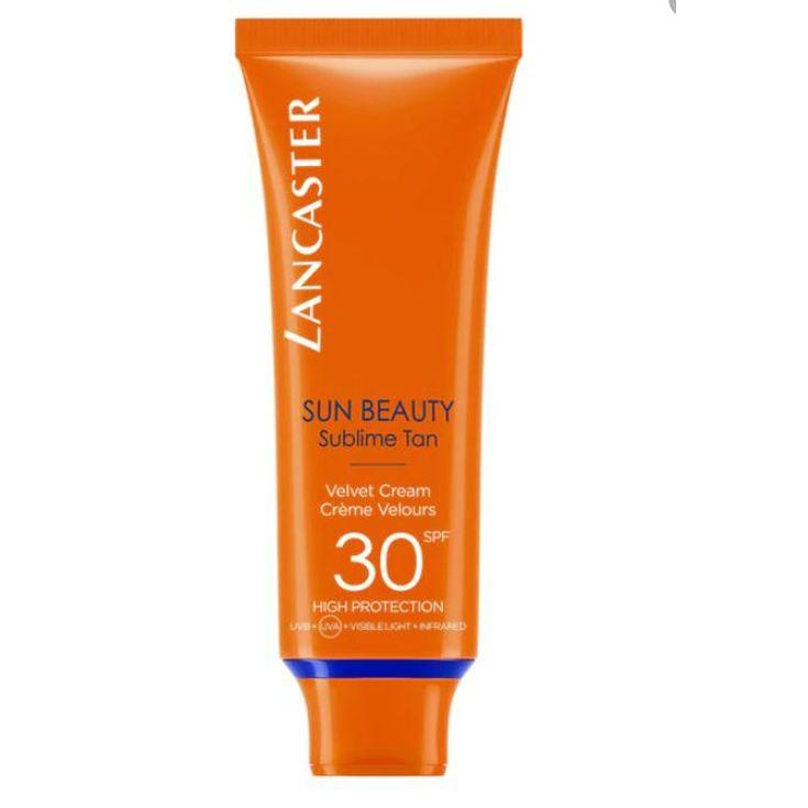 lancaster sun beauty fotoprotector facial aterciopelada sfp30 150ml