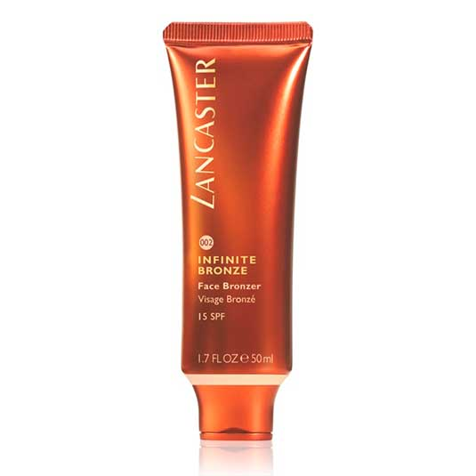 lancaster infinite bronze bronceador facial spf15 50ml
