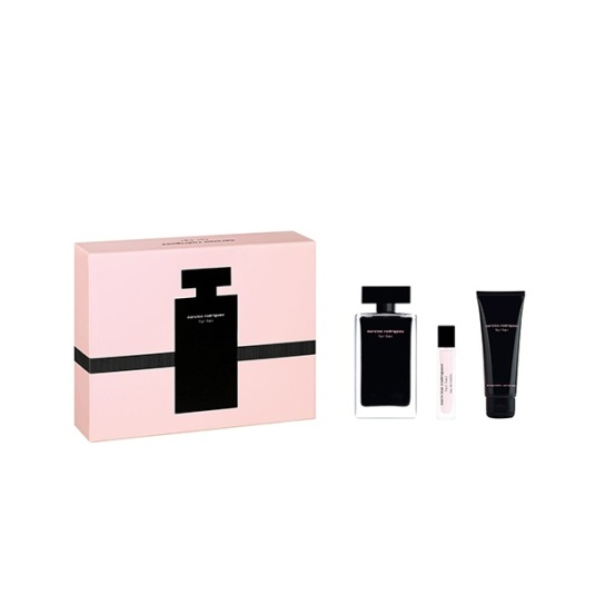 narciso rodriguez for her 100ml cofre regalo 3 piezas