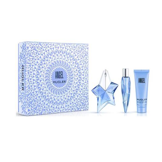 thierry mugler angel eau de parfum rellenable 25ml cofre 3 piezas