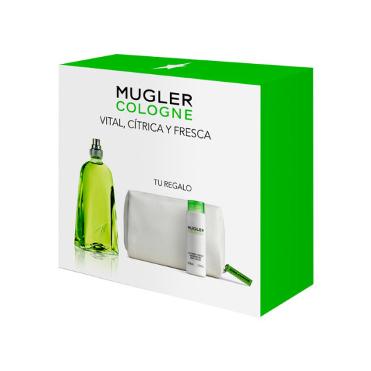 MUGLER COLOGNE SPLASH & SPRAY EAU DE TOILETTE SET NECESET