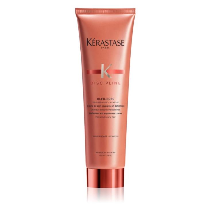 kerastase discipline oleo-curl crema para cabello rizado y rebelde 150ml