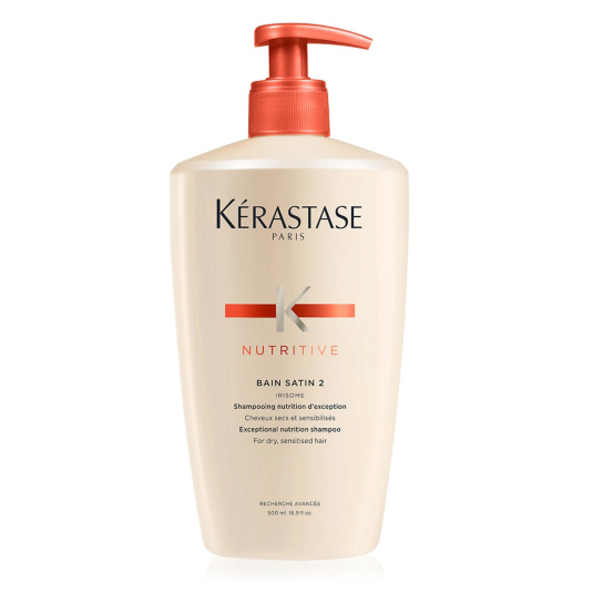 kerastase nutritive bain satin champu nutritivo cabello seco y sensible