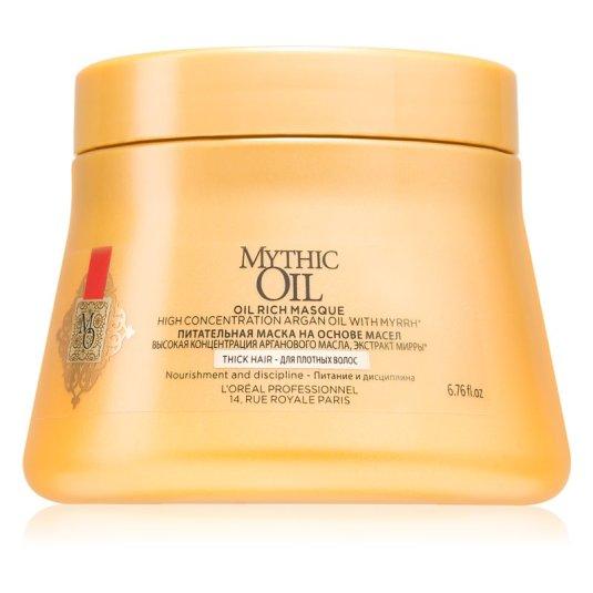 l'oréal professionnel mythic oil mascarilla capilar nutritiva cabello denso 200ml