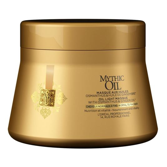 loreal expert mythic oil mascarilla capilar nutritiva cabello fino o normal 200ml