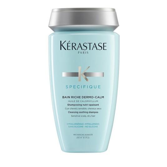 kérastase spécifique bain riche dermo-calm champú nutri-calmante cuero cabelludo sensible 250ml