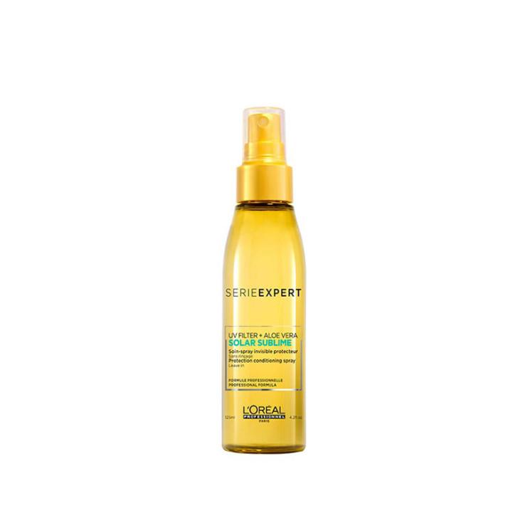 l'oréal professionnel serie expert solar sublime uv filter + aloe vera spray protector capilar 125ml