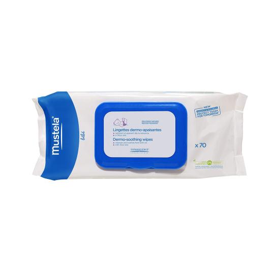 mustela toallitas dermo-suavizantes perfumadas 70unidades