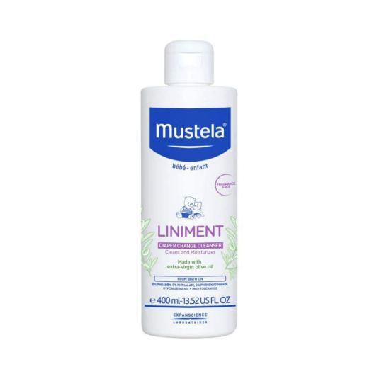 mustela linimento higiene zona del pañal 400ml