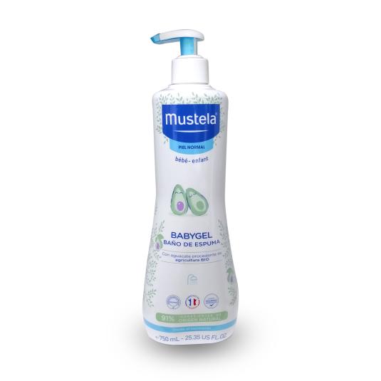 mustela baby gel dosificador 750ml