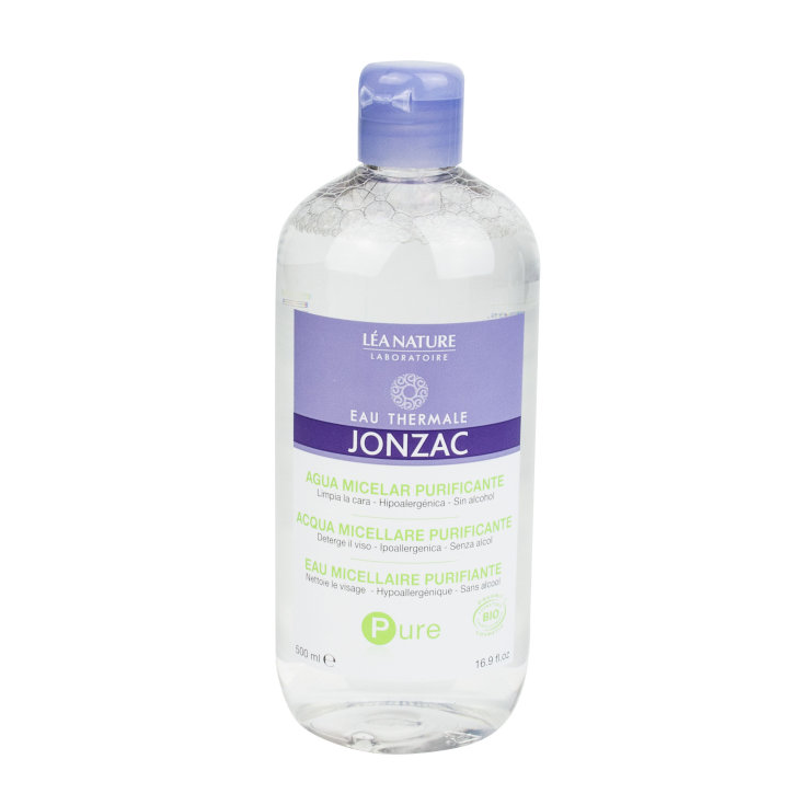 jonzac pure agua micelar purificante 500ml