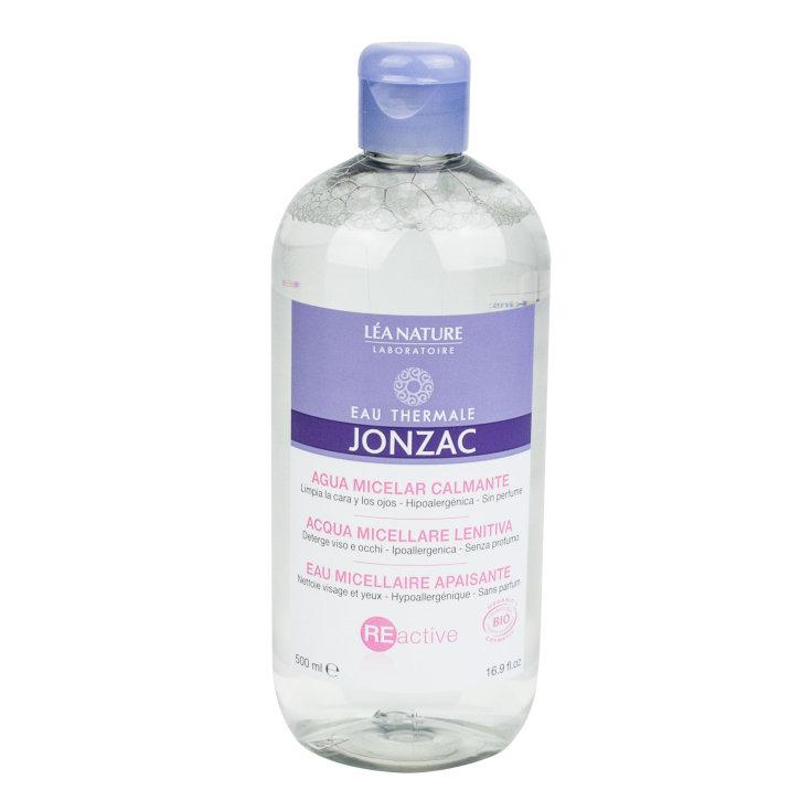 jonzac reactive agua micelar calmante pieles sensibles 500ml
