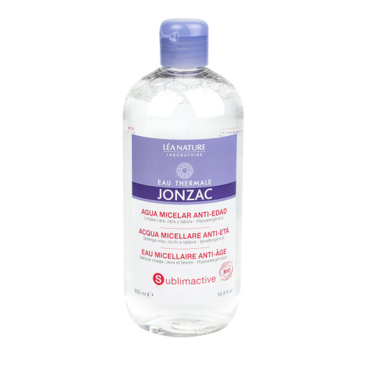 jonzac sublimactive agua micelar antiedad pieles maduras 500ml
