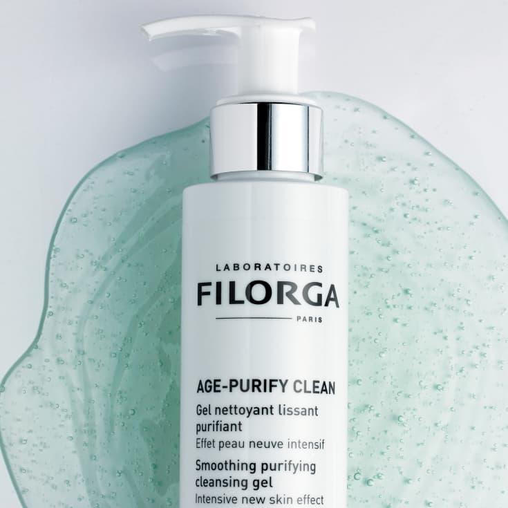 filorga age-purify gel limpiador alisador-purificador 150ml