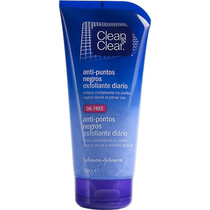 clean&clear gel exfoliante anti-puntos negros 150ml