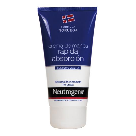 neutrogena crema de manos rápida absorción 75ml