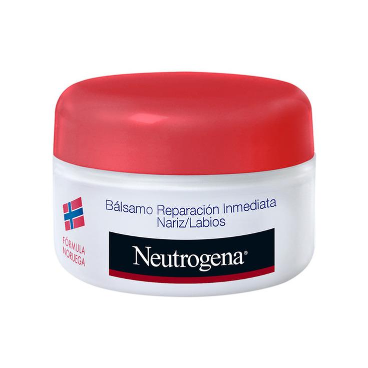 neutrogena bálsamo reparación inmediata nariz y labios tarro 15ml