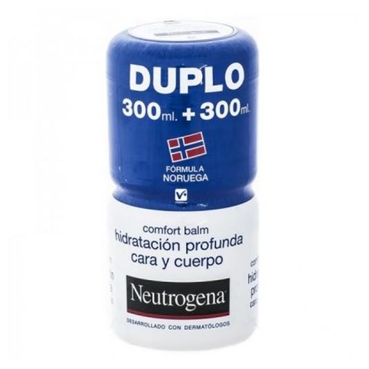 neutrogena comfort balm 300 ml+ 300 ml