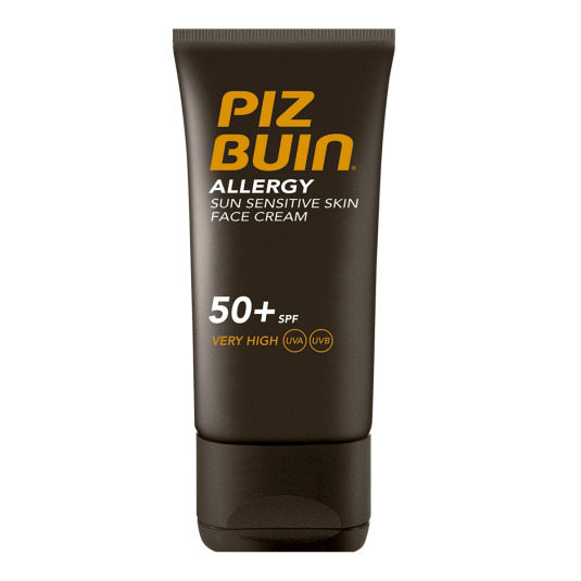 piz buin allergy solar facial alergia piel sensible spf50+ 50ml
