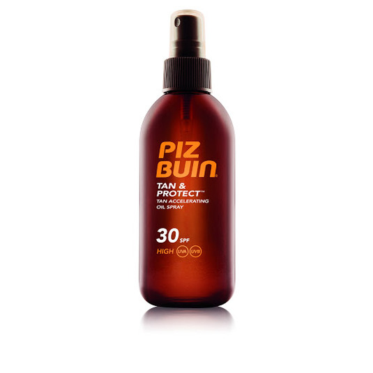 piz buin tan&protect aceite acelerador del bronceado spf30 150ml