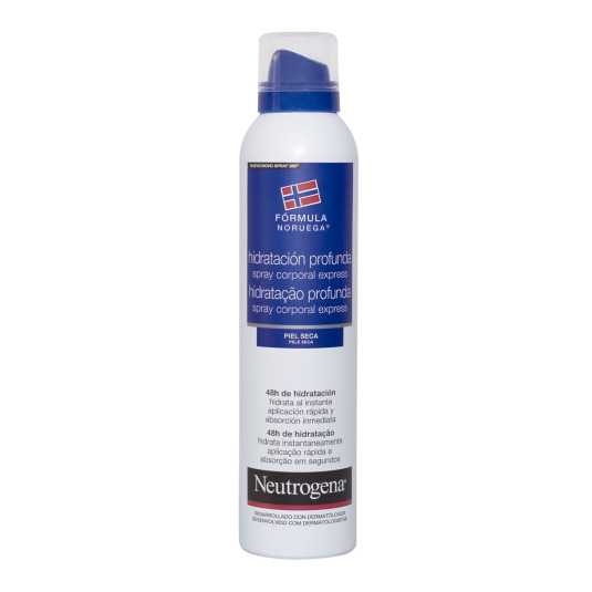 neutrogena express hidratación corporal profunda spray 200ml