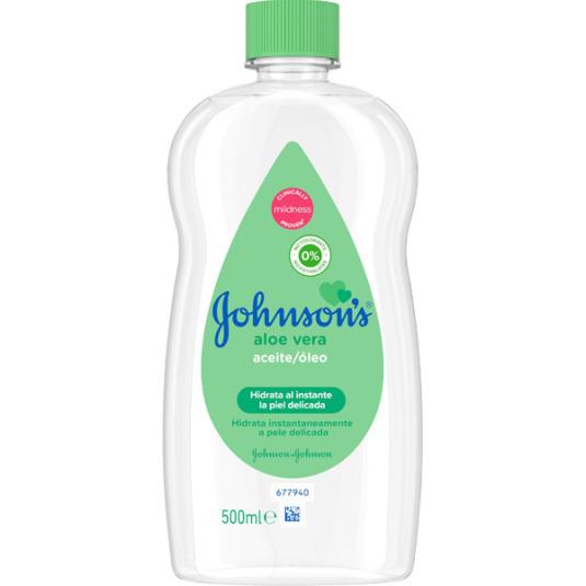johnson's baby aceite aloe vera