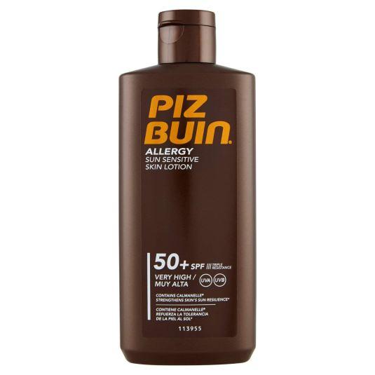 piz buin allergy locion solar corporal spf50+ 200ml