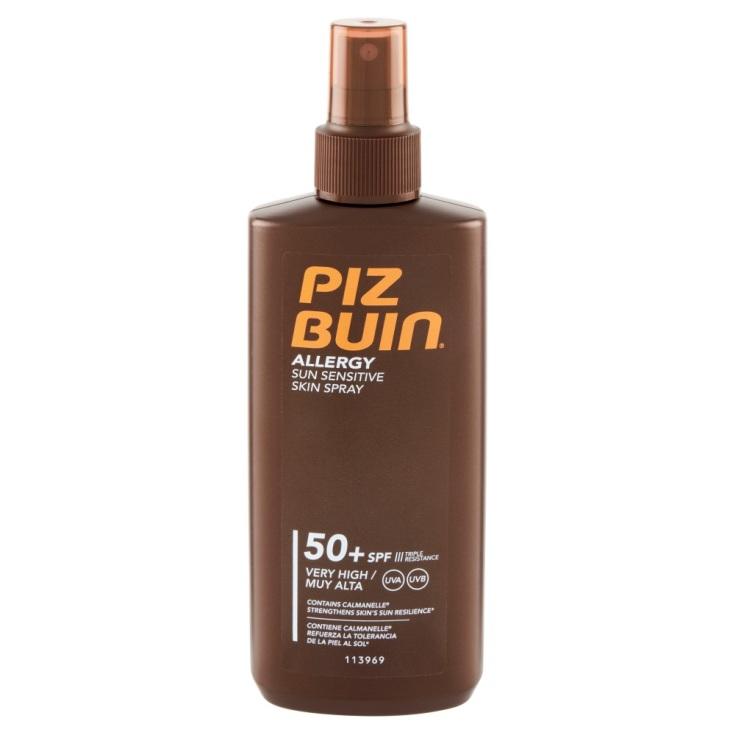 piz buin allergy sun sensitive skin spray spf50 200ml