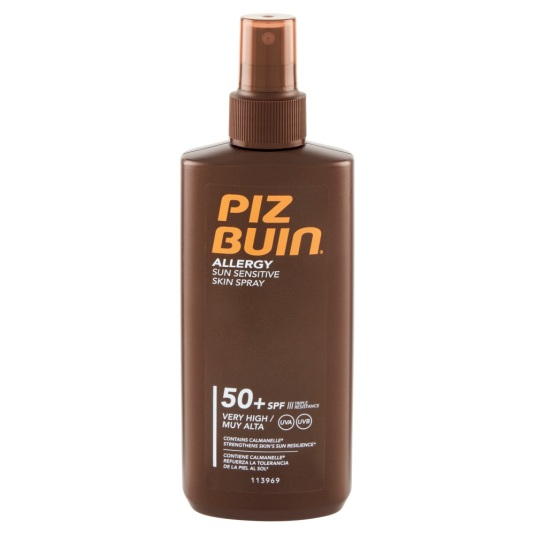 piz buin allergy sun sensitive skin spray spf50 200ml
