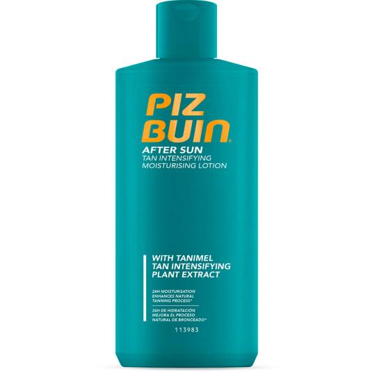 piz buin locion hidratante after sun intensificante del bronceado 200ml