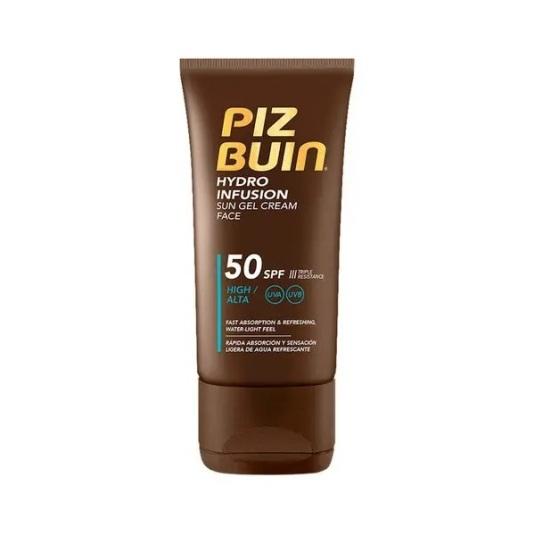piz buin hydro infusion sun gel crema solar facial spf50 150ml