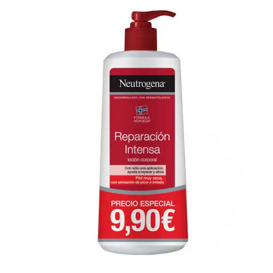 neutrogena locion corporal hidratacion produnda dosificador400ml promo