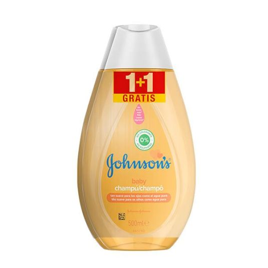 johnson's baby champu original duplo 2x500ml