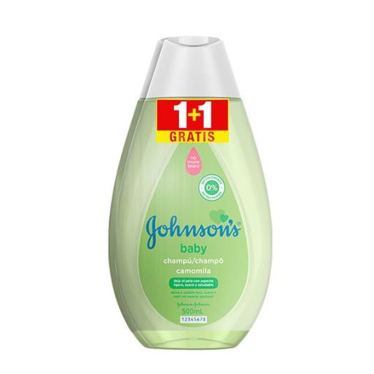 johnson's baby champu camomila duplo 2x500ml