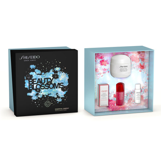 shiseido essential energy cream 50ml set beauty blossoms