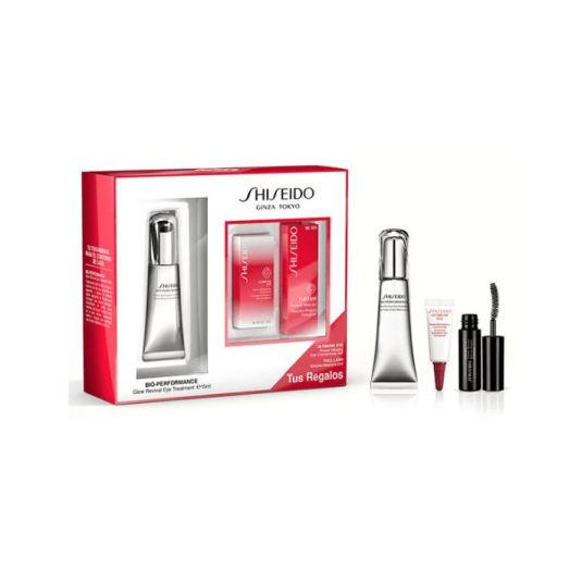 shiseido bio-performance glow revival eye 15ml set