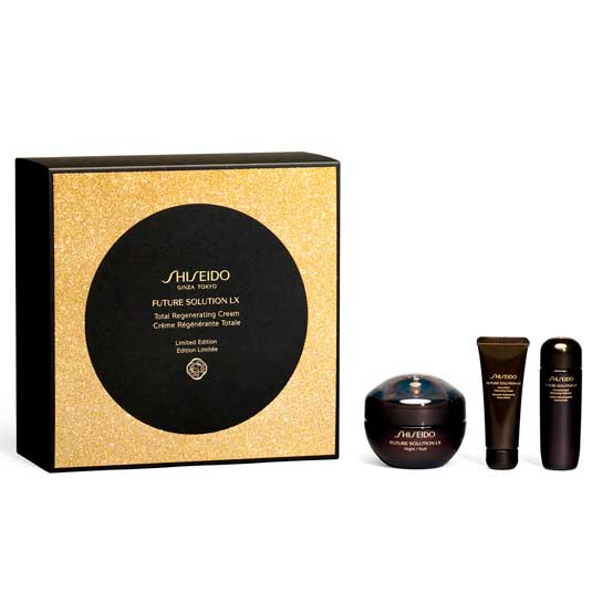 shiseido future solution lx regenerating night cream 50ml set regalo