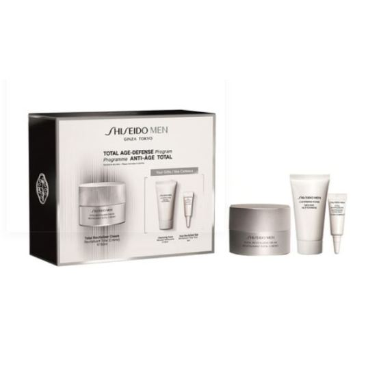 shiseido men total revitalizer 50ml set