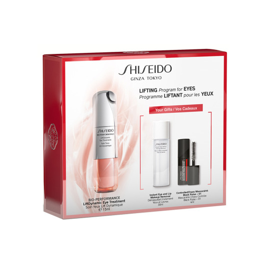 shiseido bio-performance liftdynamic eye treatment 15ml set 3 piezas