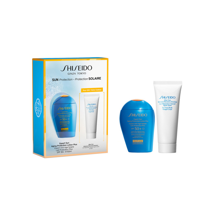 shiseido expert sun aging protection 100ml set