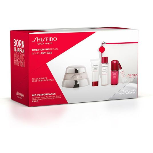 shiseido bio-performance advanced super revitalizing crema antiedad set 5 piezas