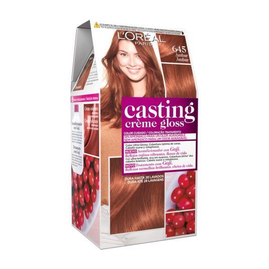casting crème gloss tinte sin amoniaco ambre nº 645