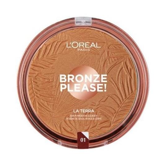 loreal glam bronze terra polvos bronceadores