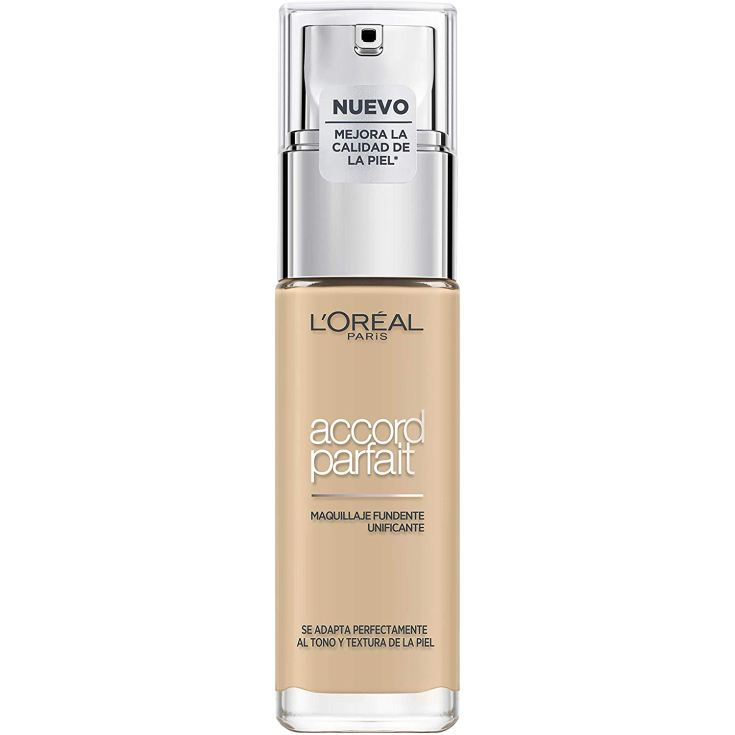 loreal accord parfait base de maquillaje fluida fundente